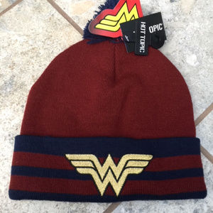 DC Wonder Woman Pom-Pom Beanie